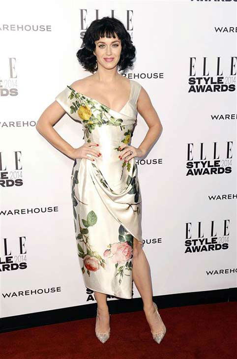 "<div class=""meta ""><span class=""caption-text "">Katy Perry appears at the 2014 Elle Style Awards in London, England on Feb. 18, 2014. She was named Elle?s Woman of the Year for 2014.  (Ian West / startraksphoto.com)</span></div>"