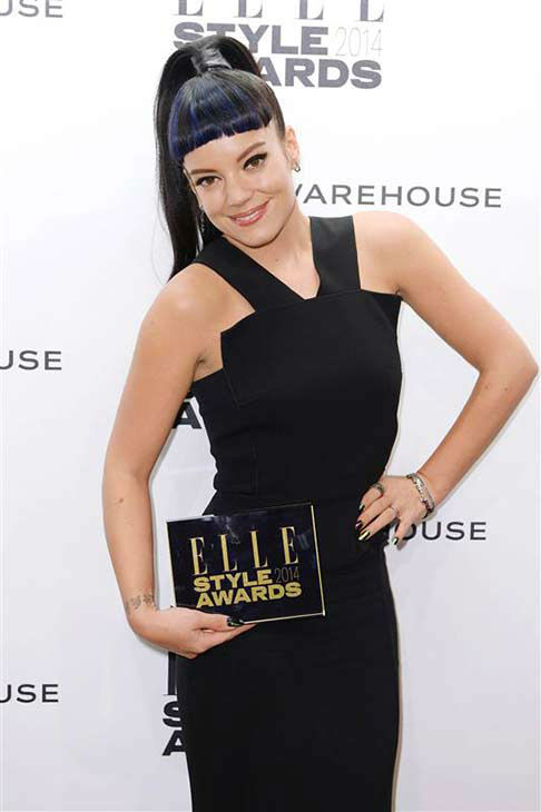"<div class=""meta image-caption""><div class=""origin-logo origin-image ""><span></span></div><span class=""caption-text"">Lily Allen appears at the 2014 Elle Style Awards in London, England on Feb. 18, 2014.  (Doug Peters / startraksphoto.com)</span></div>"