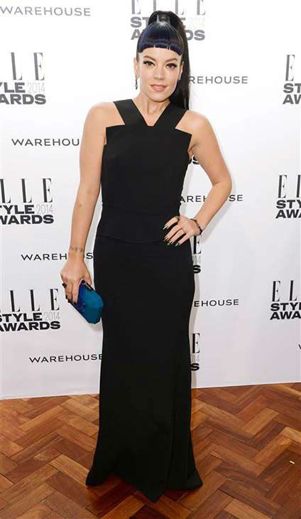 Lily Allen appears at the 2014 Elle Style Awards in London, England on Feb. 18, 2014.  <span class=meta>(Doug Peters &#47; startraksphoto.com)</span>