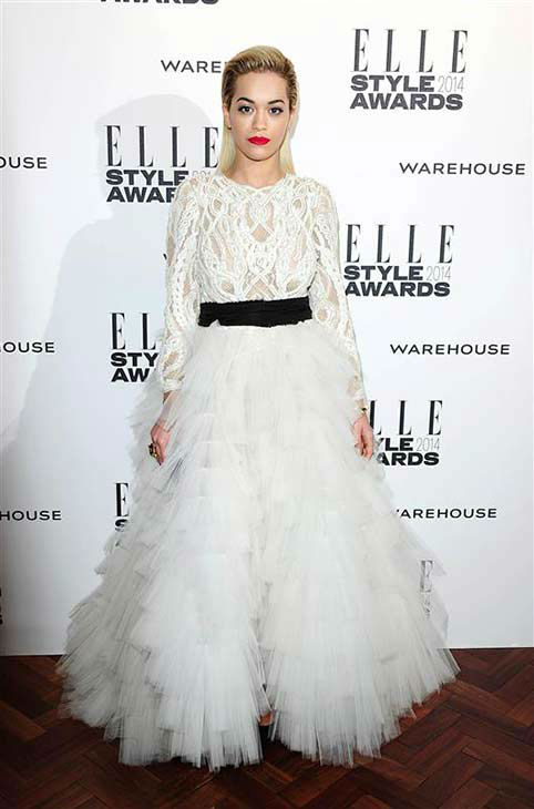 Rita Ora appears at the 2014 Elle Style Awards in London, England on Feb. 18, 2014.  <span class=meta>(Ian West &#47; startraksphoto.com)</span>