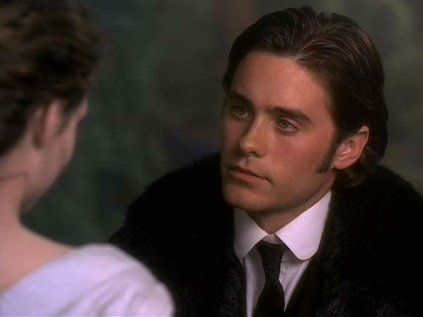 Jared Leto appears in the 1998 film &#39;Basil.&#39; He played the character Basil.  <span class=meta>(Buena Vista International)</span>