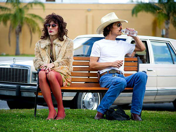 Jared Leto appears in the 2013 film &#39;Dallas Buyers Club,&#39; co-starring Matthew McConaughey. His portrayal of the character Rayon earned Leto a 2014 Oscar nomination for Best Supporting Actor. <span class=meta>(Focus Features)</span>