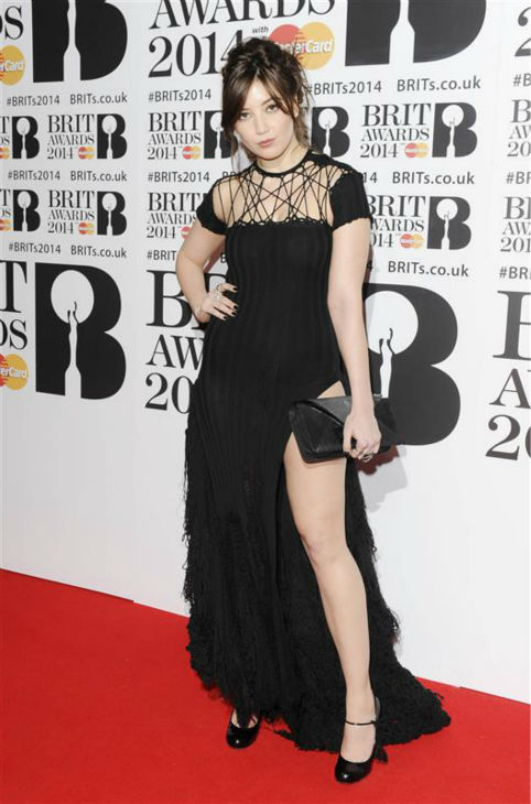 "<div class=""meta ""><span class=""caption-text "">Model Daisy Lowe (daughter of rocker Gavin Rossdale) appears at the 2014 BRIT Awards in London on Feb. 19, 2014. (Richard Young / REX / Startraksphoto.com)</span></div>"
