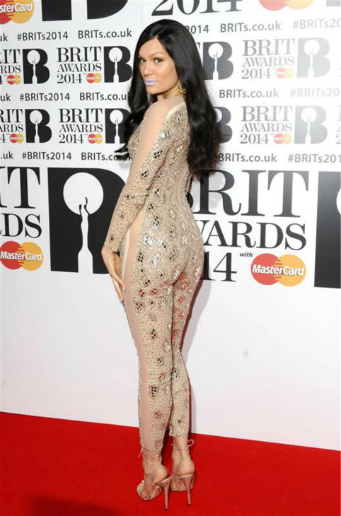 "<div class=""meta ""><span class=""caption-text "">British pop singer Jessie J appears at the 2014 BRIT Awards in London on Feb. 19, 2014. (Richard Young / REX / Startraksphoto.com)</span></div>"