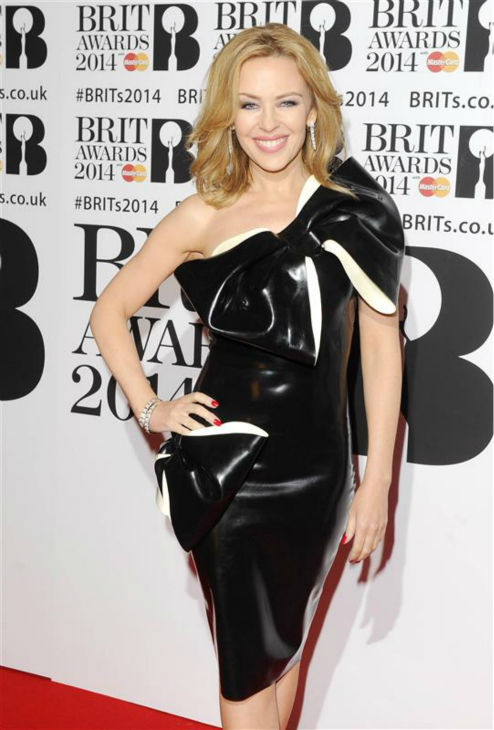"<div class=""meta ""><span class=""caption-text "">Australian pop star Kylie Minogue appears at the 2014 BRIT Awards in London on Feb. 19, 2014. (Richard Young / REX / Startraksphoto.com)</span></div>"