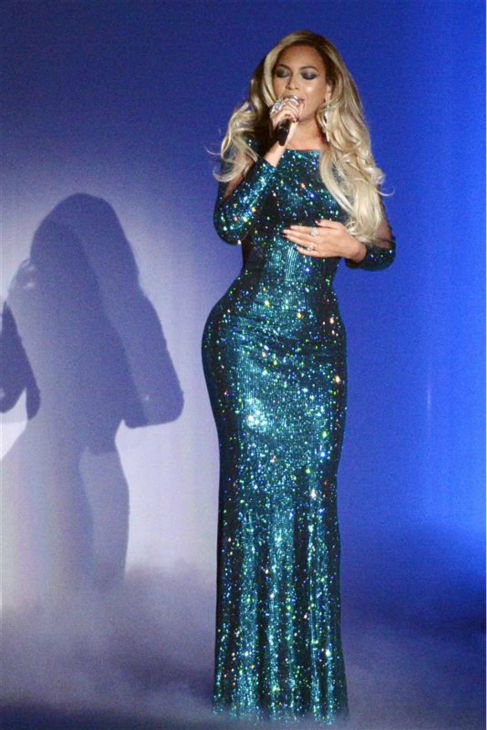 "<div class=""meta image-caption""><div class=""origin-logo origin-image ""><span></span></div><span class=""caption-text"">Beyonce performs the song 'XO' from her 2013 album 'Beyonce' at the 2014 BRIT Awards in London on Feb. 19, 2014. (Richard Young / REX / Startraksphoto.com)</span></div>"