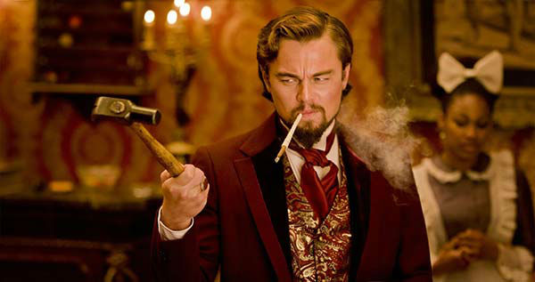 Leonardo DiCaprio appears in the 2012 film &#39;Django Unchained.&#39; He played the character Calvin J. Candie.  <span class=meta>(The Weinstein Company)</span>