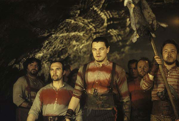 Leonardo DiCaprio appears in the 2002 film &#39;Gangs of New York.&#39; He played the character Amsterdam Vallon. <span class=meta>(Miramax Films)</span>