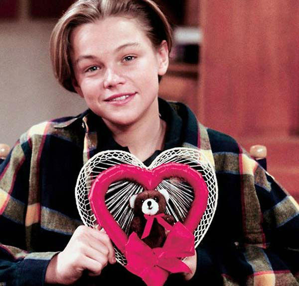 Leonardo DiCaprio appears in a promotional photo for the ABC television series &#39;Growing Pains.&#39; He played Luke Brower, a trouble boy taken in by the Seaver on the series from 1991 to 1992. <span class=meta>(ABC)</span>