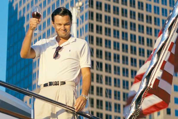 Leonardo DiCaprio appears in the 2013 film &#39;The Wolf of Wall Street.&#39; His portrayal of the character Jordan Belfort earned him an Oscar nomination for Best Actor. <span class=meta>(Paramount Pictures)</span>