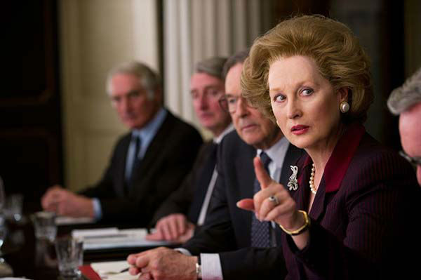Meryl Streep appears in the 2011 film &#39;The Iron Lady.&#39; She won the Oscar in the Best Actress category for her role as Margaret Thatcher. <span class=meta>(20th Century Fox)</span>