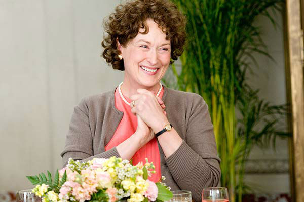 Meryl Streep appears in the 2009 film &#39;Julie and Julia.&#39; She was nominated for an Oscar in the Best Actress category for her role as Julia Child. <span class=meta>(Columbia Pictures)</span>