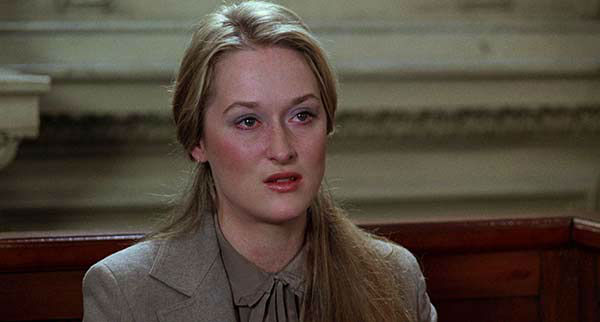 Meryl Streep appears in the 1979 film &#39;Kramer vs. Kramer.&#39; She won the Oscar in the Best Supporting Actress category for her role as Joanna Kramer. <span class=meta>(Columbia Pictures)</span>