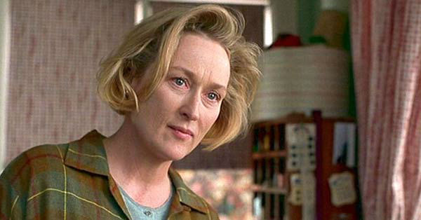 "<div class=""meta ""><span class=""caption-text "">Meryl Streep appears in the 1998 film 'One True Thing.' She was nominated for an Oscar in the Best Actress category for her role as Kate Gulden. (Universal Studios)</span></div>"