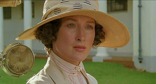 Meryl Streep appears in the 1985 film &#39;Out of Africa.&#39; She was nominated for an Oscar in the Best Actress category for her role as Karen Blixen. <span class=meta>(Universal Studios)</span>
