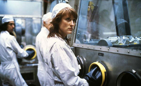 Meryl Streep appears in the 1983 film &#39;Silkwood.&#39; She was nominated for an Oscar in the Best Actress category for her role as Karen Silkwood. <span class=meta>(20th Century Fox)</span>