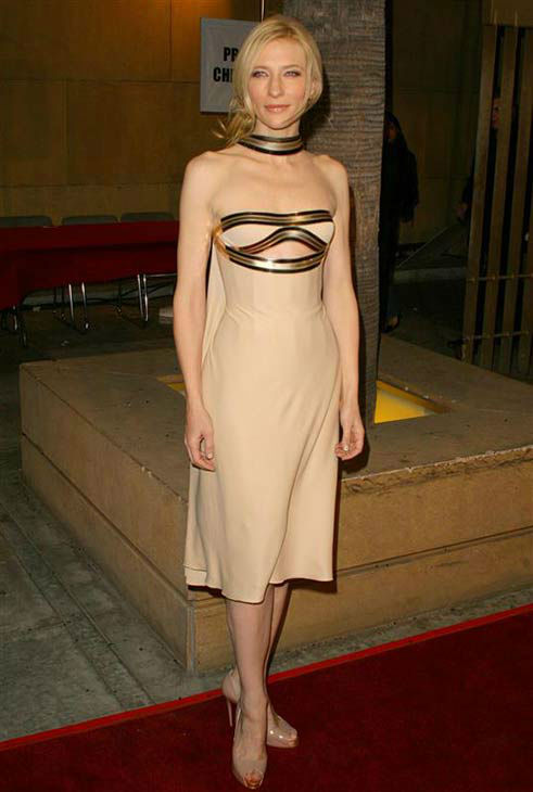 Cate Blanchett appears at the Los Angeles premiere of the film &#39;The Good German&#39; on Dec. 4, 2006.  <span class=meta>(Michael Williams &#47; startraksphoto.com)</span>