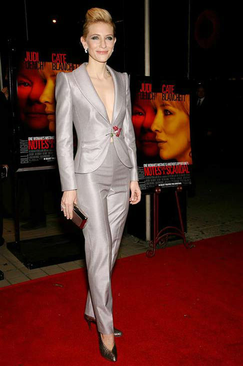 Cate Blanchett appears at the New York City premiere of the film &#39;Notes on a Scandal&#39; on Dec. 18, 2006.  <span class=meta>(Marion Curtis &#47; startraksphoto.com)</span>
