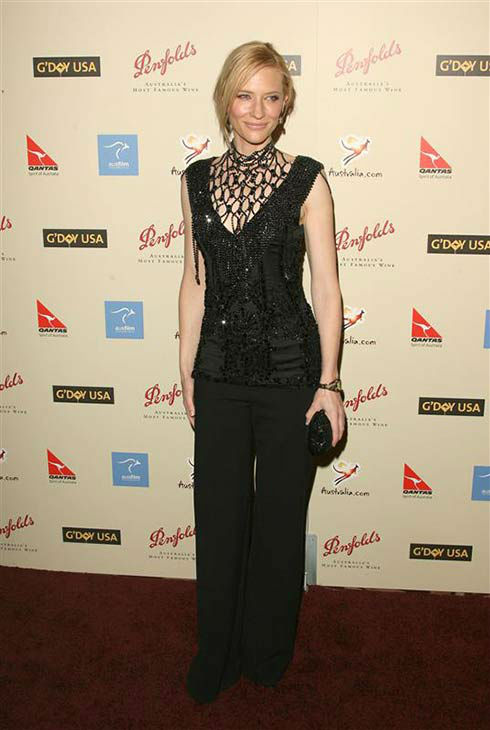 Cate Blanchett appears at the 2007 Penfolds Icon Black Tie Gala in Los Angeles, California on Jan 13, 2007.  <span class=meta>(Jen Lowery &#47; startraksphoto.com)</span>