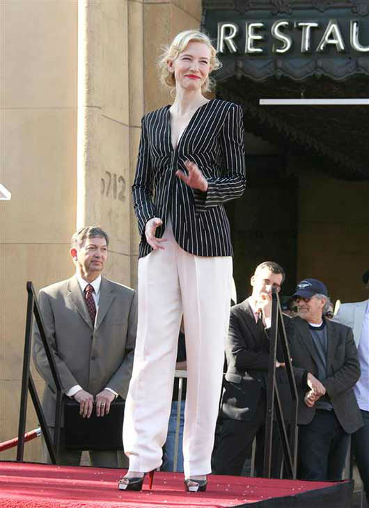 Cate Blanchett appears at the Hollywood Walk of Fame, where she received an honorary star, on Dec. 5, 2008.  <span class=meta>(Andy Fossum &#47; startraksphoto.com)</span>