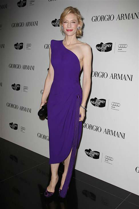Cate Blanchett appears at a Giorgio Armani event in New York City on Nov. 23, 2009.  <span class=meta>(Amanda Schwab &#47; startraksphoto.com)</span>