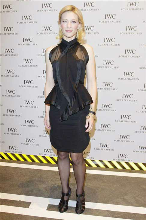 Cate Blanchett appears at the IWC launch party in Geneva, Switzerland on Jan. 17, 2012.  <span class=meta>(Goran Gajanin &#47; startraksphoto.com)</span>