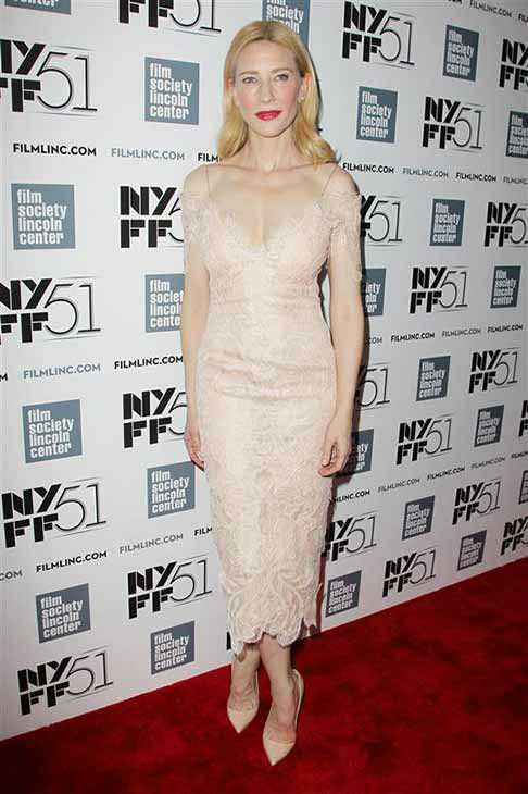 Cate Blanchett appears at the 2013 New York Film Festival on Oct. 2, 2013.  <span class=meta>(Amanda Schwab &#47; startraksphoto.com)</span>