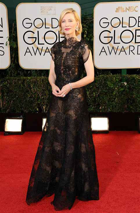 Cate Blanchett appears at the 71st annual Golden Globe Awards in Los Angeles, California on Jan. 12, 2014.  <span class=meta>(Sara De Boer &#47; startraksphoto.com)</span>