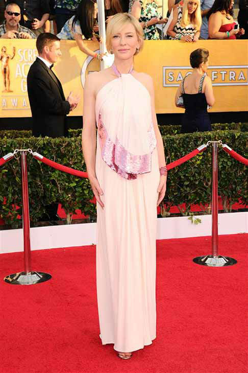 Cate Blanchett appears at the 20th annual Screen Actors Guild Awards in Los Angeles, California on Jan. 18, 2014.  <span class=meta>(Kyle Rover &#47; startraksphoto.com)</span>