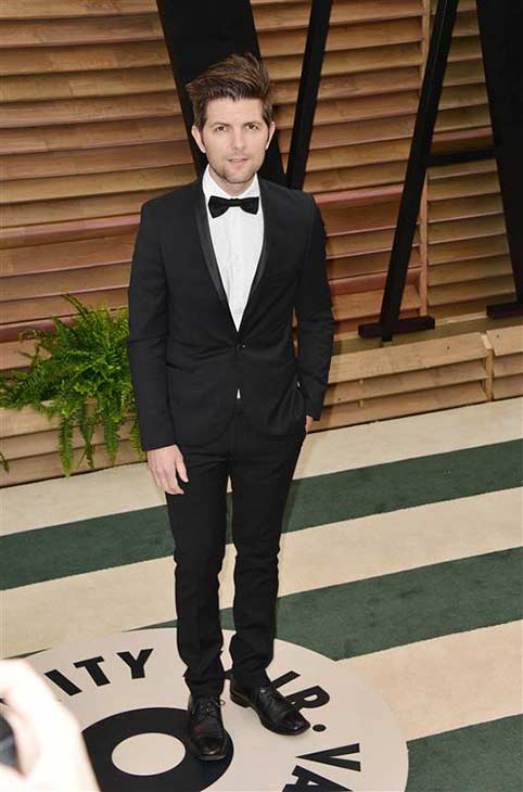 "<div class=""meta image-caption""><div class=""origin-logo origin-image ""><span></span></div><span class=""caption-text"">Adam Scott appears at the 2014 Vanity Fair Oscar party in Los Angeles, California on March 2, 2014. (Tony DiMaio / startraksphoto.com)</span></div>"