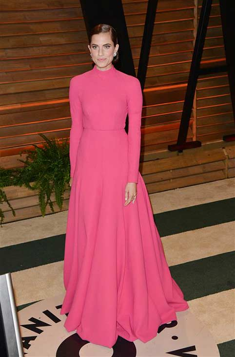 Allison Williams appears at the 2014 Vanity Fair Oscar party in Los Angeles, California on March 2, 2014. <span class=meta>(Tony DiMaio &#47; startraksphoto.com)</span>
