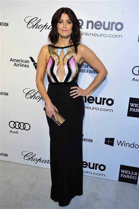 Bellamy Young &#40;Mellie Grant on &#39;Scandal&#39;&#41; appears at the 22nd annual Elton John AIDS Foundation&#39;s Oscar viewing party in Los Angeles, California on March 2, 2014. <span class=meta>(Michael Williams &#47; startraksphoto.com)</span>