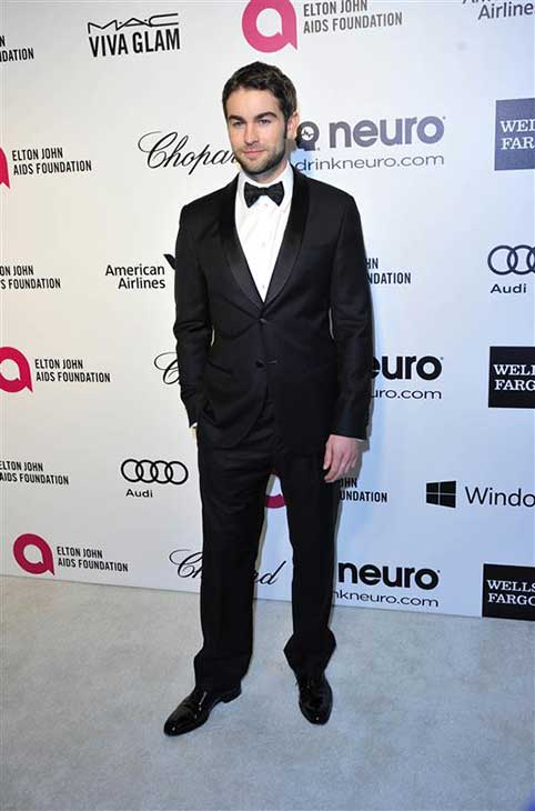 "<div class=""meta image-caption""><div class=""origin-logo origin-image ""><span></span></div><span class=""caption-text"">Chace Crawford appears at the 22nd annual Elton John AIDS Foundation's Oscar viewing party in Los Angeles, California on March 2, 2014. (Michael Williams / startraksphoto.com)</span></div>"