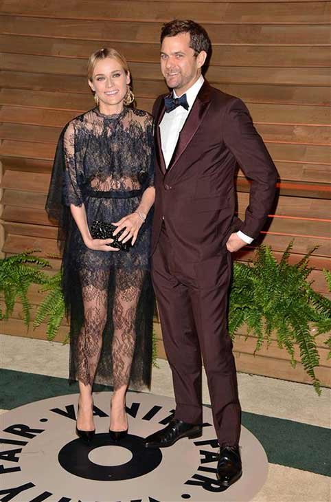 Diane Kruger and Joshua Jackson appear at the 2014 Vanity Fair Oscar party in Los Angeles, California on March 2, 2014. <span class=meta>(Tony DiMaio &#47; startraksphoto.com)</span>