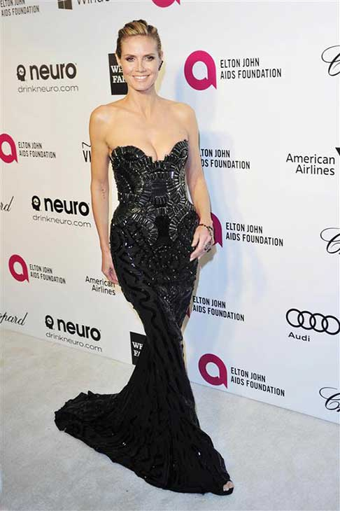 Heidi Klum appears at the 22nd annual Elton John AIDS Foundation&#39;s Oscar viewing party in Los Angeles, California on March 2, 2014. <span class=meta>(Michael Williams &#47; startraksphoto.com)</span>