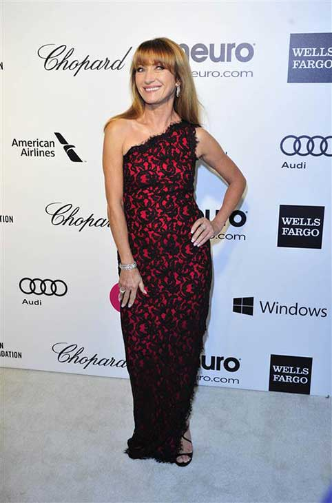 Jane Seymour appears at the 22nd annual Elton John AIDS Foundation&#39;s Oscar viewing party in Los Angeles, California on March 2, 2014. <span class=meta>(Michael Williams &#47; startraksphoto.com)</span>