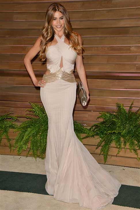 "<div class=""meta ""><span class=""caption-text "">Sofia Vergara appears at the 2014 Vanity Fair Oscar party in Los Angeles, California on March 2, 2014. (Tony DiMaio / startraksphoto.com)</span></div>"