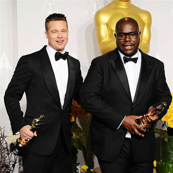 "<div class=""meta image-caption""><div class=""origin-logo origin-image ""><span></span></div><span class=""caption-text"">Brad Pitt, Steve McQueen appear in the press room at the 2014 Oscars on March 2, 2014. (Kyle Rover/startraksphoto.com)</span></div>"