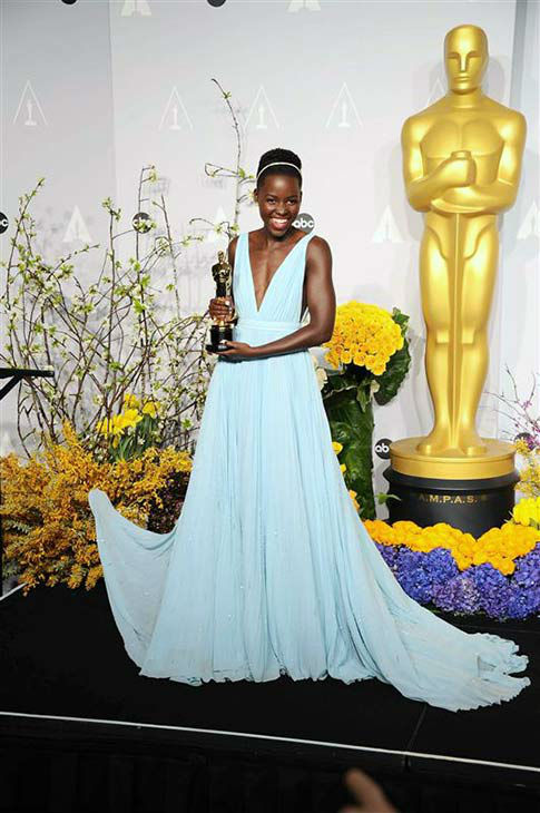 "<div class=""meta ""><span class=""caption-text "">Lupita Nyong'o appears in the press room at the 2014 Oscars on March 2, 2014. (Kyle Rover/startraksphoto.com)</span></div>"