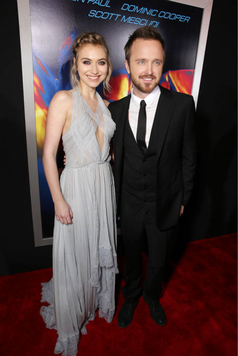 "<div class=""meta ""><span class=""caption-text "">Aaron Paul and co-star Imogen Poots attend the premiere of DreamWorks Pictures' 'Need For Speed' at The TCL Chinese Theatre in Hollywood, California on March 6, 2014. (Eric Charbonneau / Invision for DreamWorks Pictures / AP Images)</span></div>"
