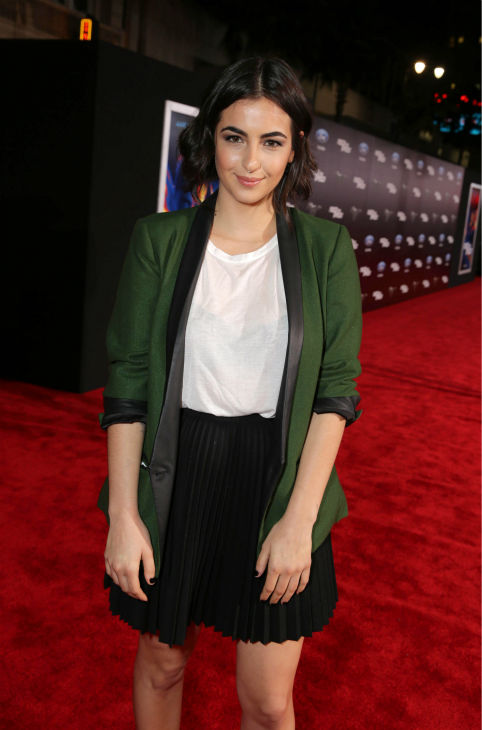 Alanna Masterson of &#39;The Walking Dead&#39; fame attends the premiere of DreamWorks Pictures&#39; &#39;Need For Speed&#39; at The TCL Chinese Theatre in Hollywood, California on March 6, 2014. <span class=meta>(Eric Charbonneau &#47; Invision for DreamWorks Pictures &#47; AP Images)</span>