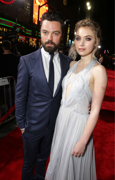 Dominic Cooper and co-star Imogen Poots attend the premiere of DreamWorks Pictures&#39; &#39;Need For Speed&#39; at The TCL Chinese Theatre in Hollywood, California on March 6, 2014. <span class=meta>(Eric Charbonneau &#47; Invision for DreamWorks Pictures &#47; AP Images)</span>