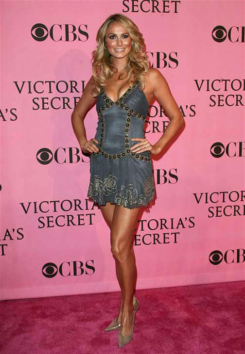 Stacy Keibler appears at the 2007 Victoria&#39;s Secret Fashion Show in Los Angeles, California on Nov. 15, 2007.  <span class=meta>(Andy Fossum &#47; startraksphoto.com)</span>