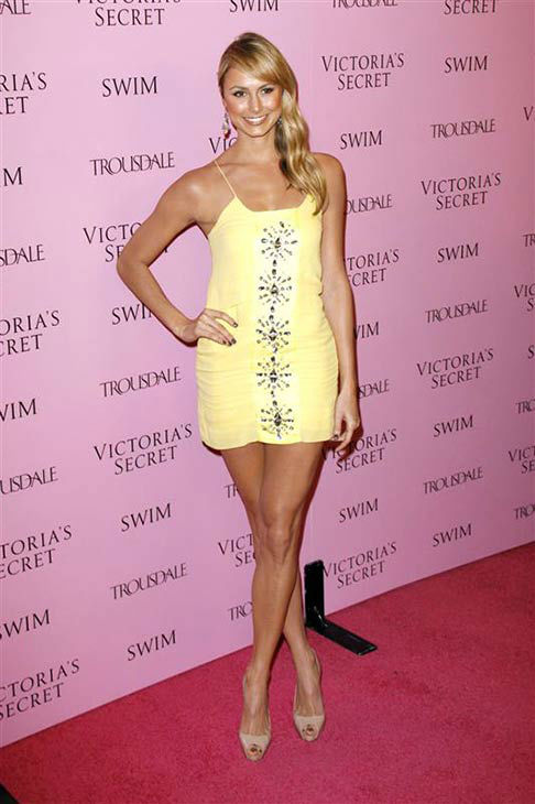 Stacy Keibler appears at the 15th anniversary celebration of Victoria&#39;s Secret&#39;s swim catalogue in Los Angeles, California on March 25, 2010.  <span class=meta>(Tony DiMaio &#47; startraksphoto.com)</span>