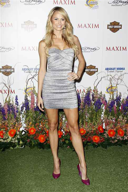 Stacy Keibler appears at the Maxim Hot 100 party in Los Angeles, California on May 19, 2010.  <span class=meta>(Tony DiMaio &#47; startraksphoto.com)</span>