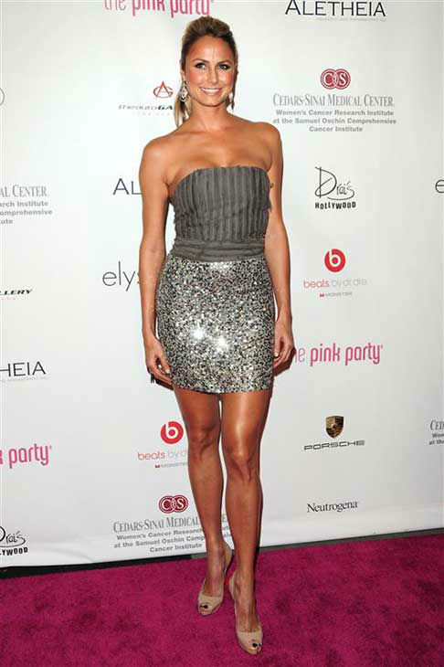 Stacy Keibler appears at the 6th annual Pink Party in Los Angeles, California on Sept. 25, 2010.  <span class=meta>(Michael Williams &#47; startraksphoto.com)</span>