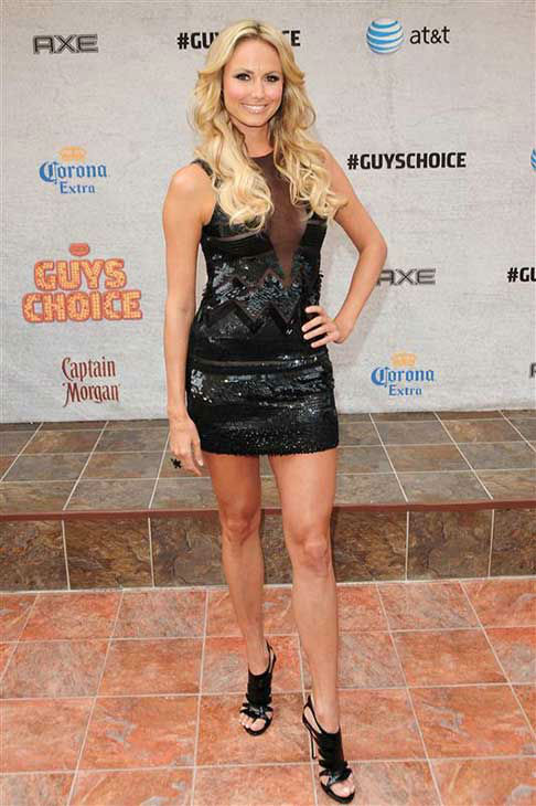 Stacy Keibler appears at the 2011 Spike TV Guy&#39;s Choice Awards in Los Angeles, California on June 4, 2011.  <span class=meta>(Michael Williams &#47; startraksphoto.com)</span>