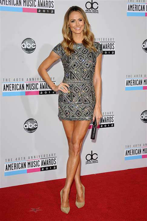 Stacy Keibler appears at the 40th annual American Music Awards in Los Angeles, California on Nov. 18, 2012.  <span class=meta>(Kyle Rover &#47; startraksphoto.com)</span>