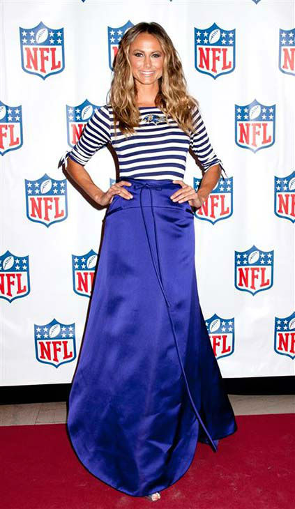 "<div class=""meta ""><span class=""caption-text "">Stacy Keibler appears at NFL Women's Apparel Back to Football launch in New York City on Sept. 3, 2013.  (Marcus Owen / startraksphoto.com)</span></div>"