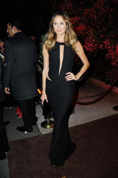 "<div class=""meta ""><span class=""caption-text "">Stacy Keibler appears at the Mademoiselle C Paris premiere after party on Oct. 1, 2013.  (Alban Wyters / startraksphoto.com)</span></div>"